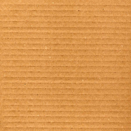 Brown corrugated cardboard sheet background Stock Photo - 3134417