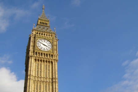 Big Ben London Houses of Parliament Westminster Palace Stock Photo - 3134373