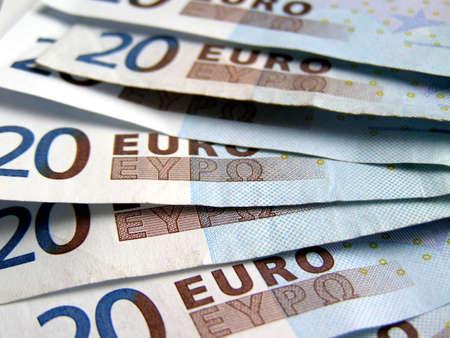 euro banknotes: Euro banknotes money