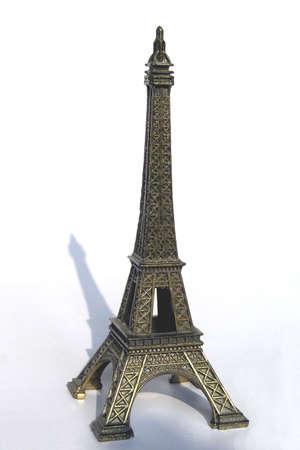 Maqueta de la Torre Eiffel en Par�s Foto de archivo - 3137005