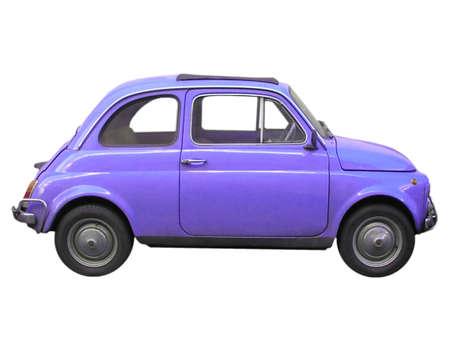 fiat: Fiat 500 sixties Italian car