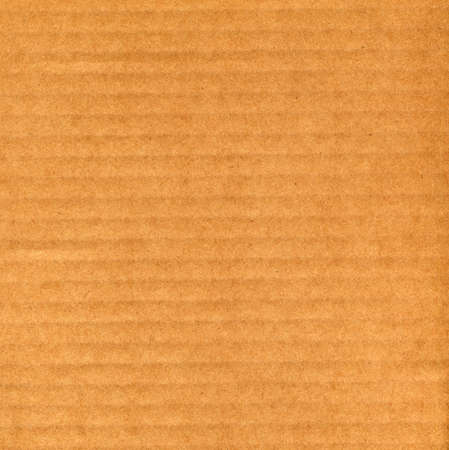 Brown corrugated cardboard sheet background Stock Photo - 3159390