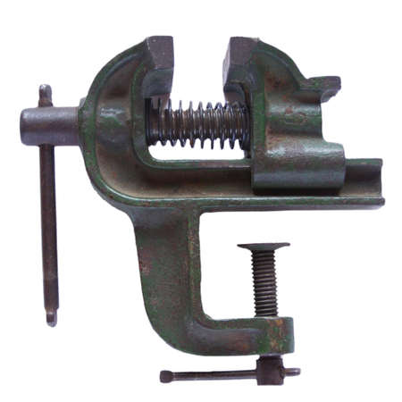 vise: Mec�nica tornillo de banco  Foto de archivo