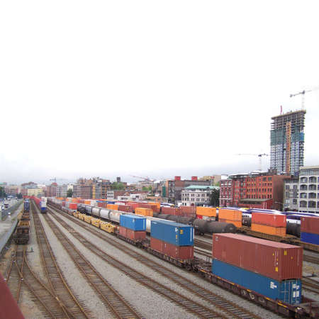 Railway station Stock Photo - 3183521