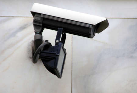 closed circuit television: CCTV closed circuit tv surveillance camera