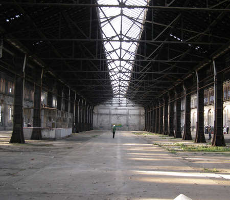 Abandoned factory industrial archeology architecture photo