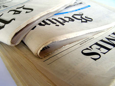 Stack of newspapers Stock Photo - 3183533