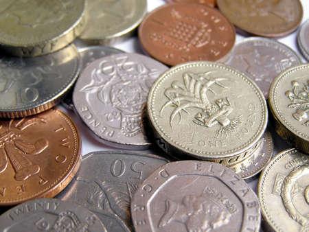 pound coins: British Pound coins money
