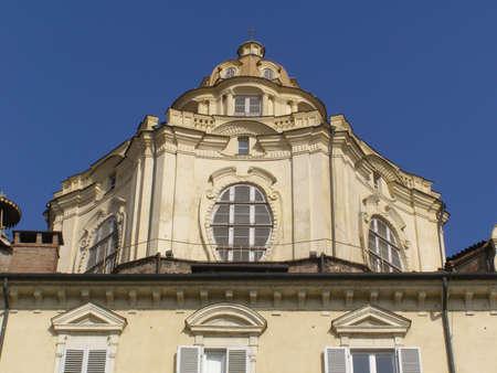Baroque church of San Lorenzo Torino photo