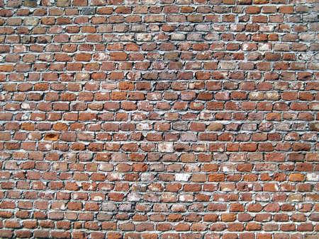 medioeval: Old brick wall