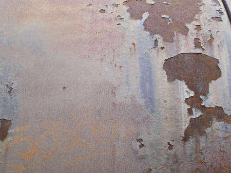 Rusted steel Stock Photo - 3229217