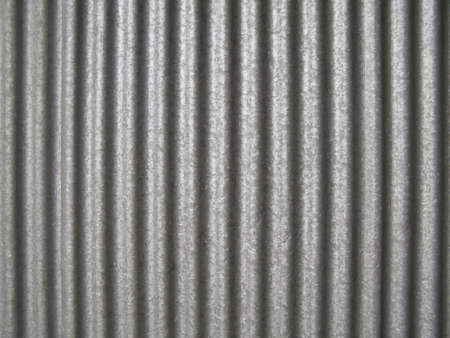 corrugated iron: Corrugated steel
