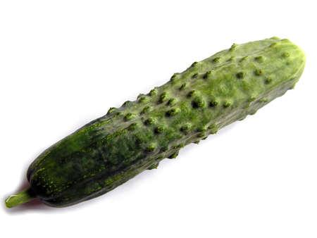 english cucumber: English cucumber vegetable Stock Photo