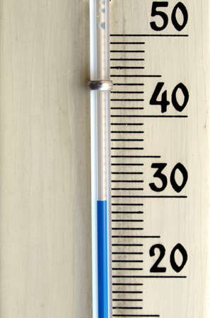 kelvin: Thermometer instrument for measuring temperature - Hot summer
