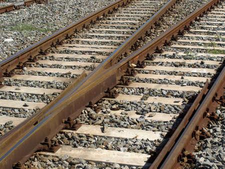 railtrack: Railway railroad track