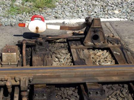 Railway railroad track photo