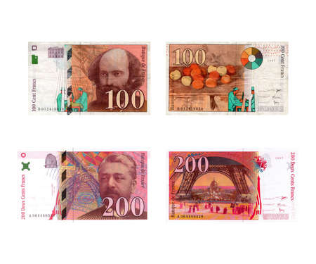 francais: Old European currency: Francs Fran�ais (French Francs)