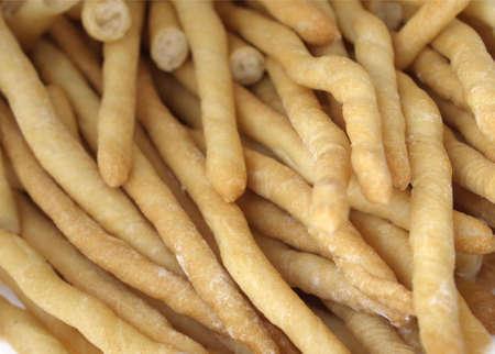 grissini: Breadsticks from Turin or Grissini Torinesi Stock Photo