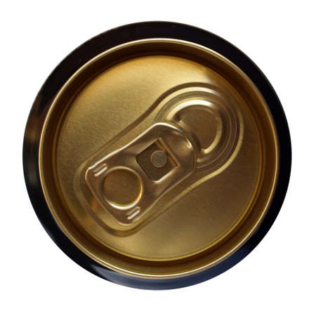 draughts: Beer can Stock Photo