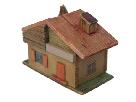 Scale model house Stock Photo - 3562556