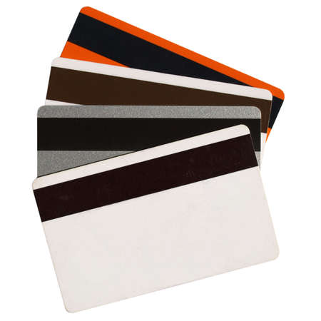 fidelity: Magnetic cards Stock Photo