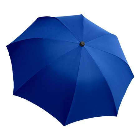 brolly: Paraguas azul