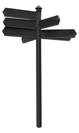 Direction arrows traffic sign
