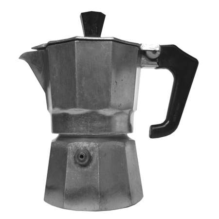 percolator: Coffee percolator Stock Photo