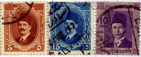 Range of Egyptian postage stamps Stock Photo - 3905081