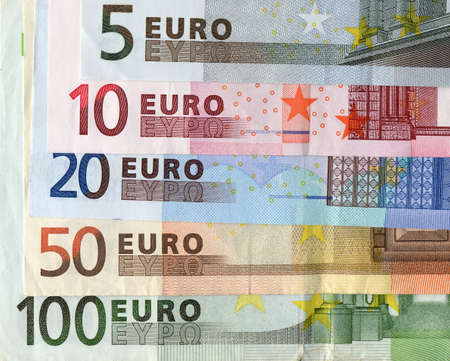 Euro banknotes money european currency Stock Photo - 3905108