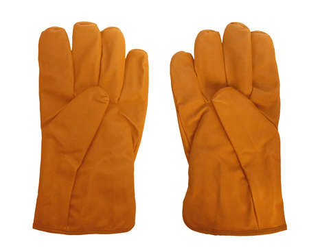 personal protective equipment: Isolated gloves personal protective equipment Stock Photo