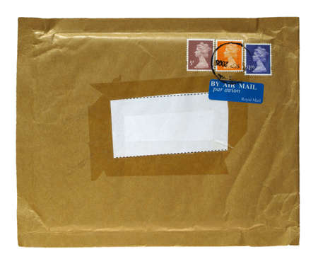 Letter or small packet envelope