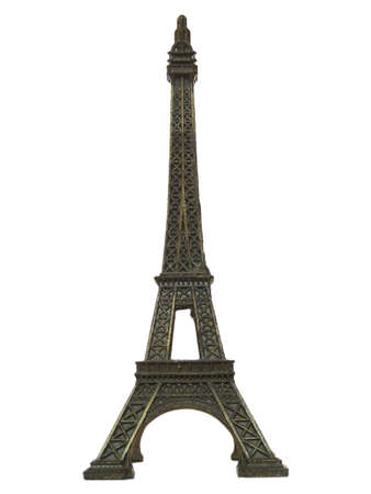 Scale model of the Eiffel tower in Paris photo