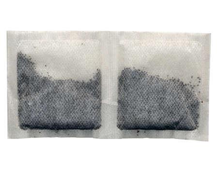 english breakfast tea: English Breakfast Tea bags isolated on white