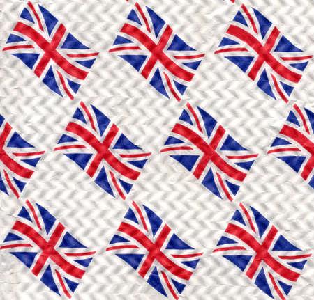 Union Jack flag of the UK as a background photo