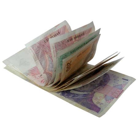 korun: Czech Korun money banknotes