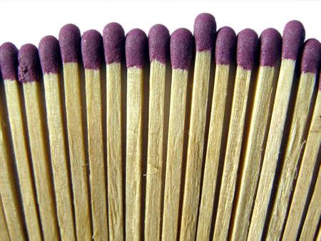 matchbox: Range of fire matches in a matchbox