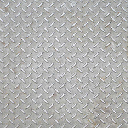 Diamond steel plate industrial iron metal background