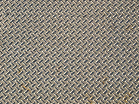 Diamond steel plate industrial iron metal background Stock Photo - 4280877