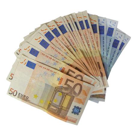 european union currency: Billetes de banco de dinero del euro (moneda Uni�n Europea)