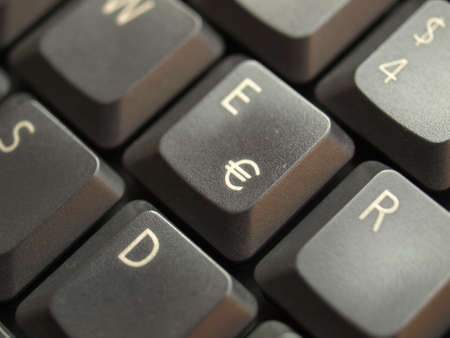 Detail of keys on a computer keyboard photo