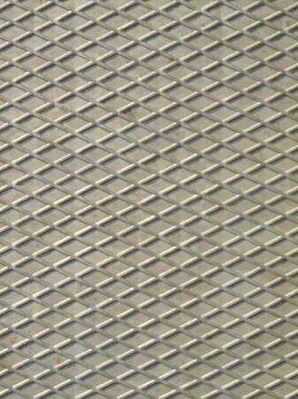 Diamond steel plate industrial iron metal background photo