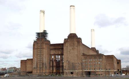 London Battersea powerstation, a landmark abandoned factory Stock Photo - 4613185