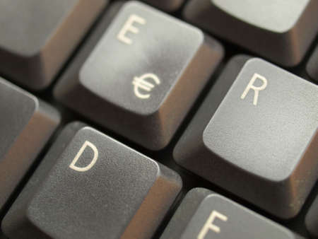 Detail of keys on a computer keyboard Stock Photo - 4635202