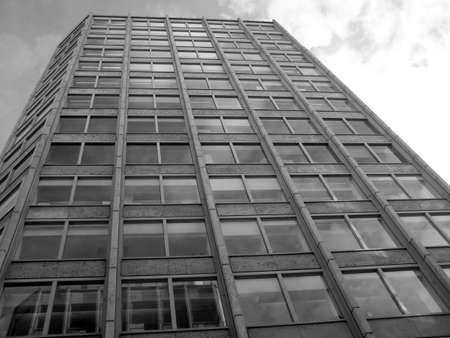 economist: The Economist, modern brutalist architecture in London Stock Photo