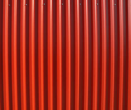 corrugated iron: Detail of corrugated steel useful as a background