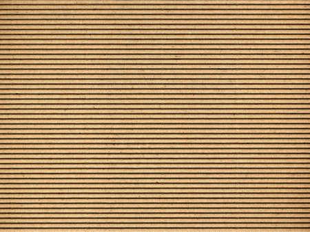 corrugated box: Brown corrugated cardboard sheet useful as a background