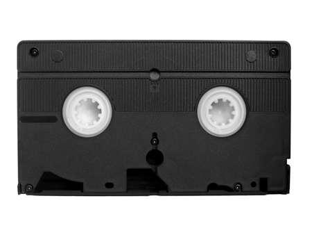 videotape: VHS Videotape magnetic tape cassette for video recording