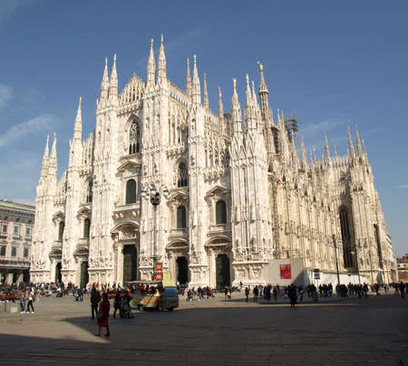 cathedrals: Milan Cathedral (Duomo di Milano), in Italy Stock Photo