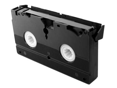 videotape: Videotape magnetic tape cassette for video recording